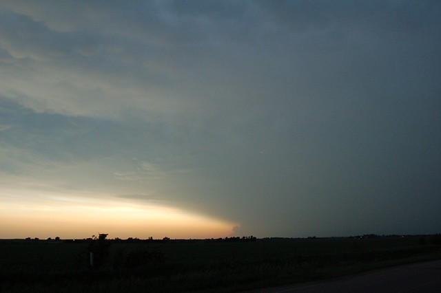 061911 -  Nebraska Mammatus Thunderset!