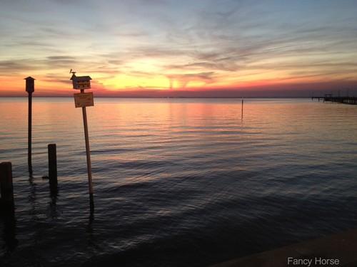 sunset iphone mobilebay fairhopepier