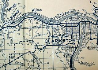 Asotin County WA 1952