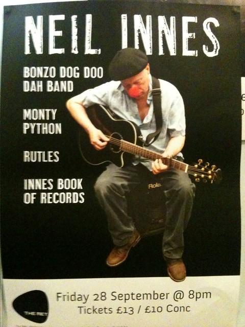 Neil Innes at Bury Met