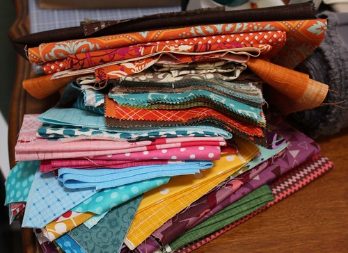 Wonky Quilt Bee - Fabrics | by Quilt. Knit. Share.