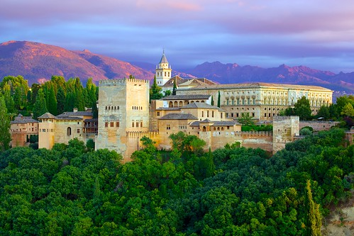 The Alhambra from Mirador de St. Nicolas (1) | by jiuguangw