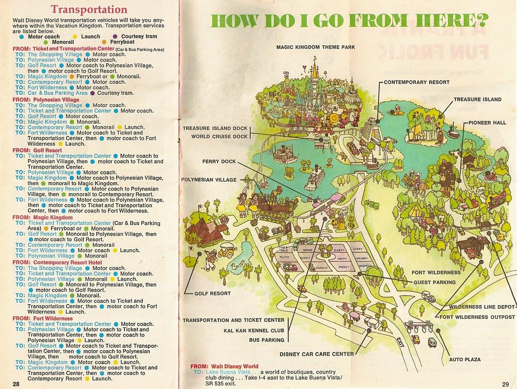 Walt Disney World Transportation (1975) | Walt Disney World ...