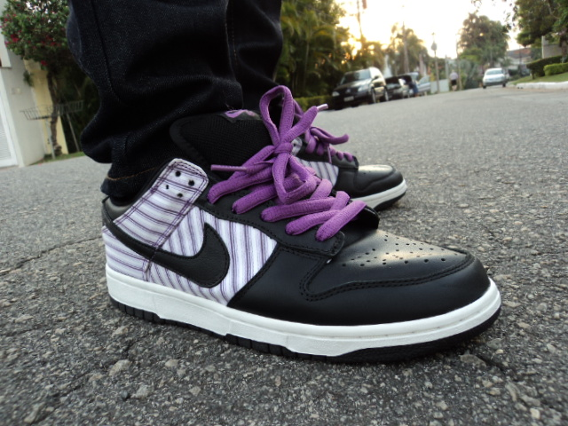 promo code 877f9 7e205 WDYWT - Nike Dunk SB - Purple Avenger | Finally unDS'ing the ...