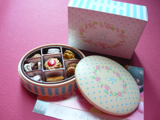 re mint assorted cookies box