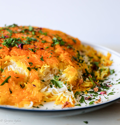 Saffron Tales Chelow | by CulinaryTravels