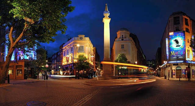 Blue Hour at the Seven Dials