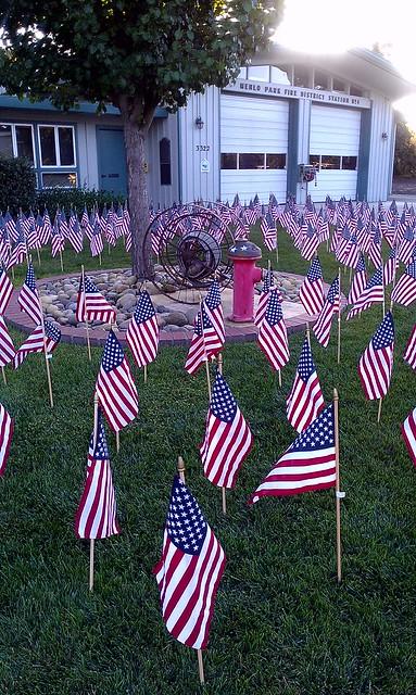 9/11 Memorial - Menlo Park Fire Station