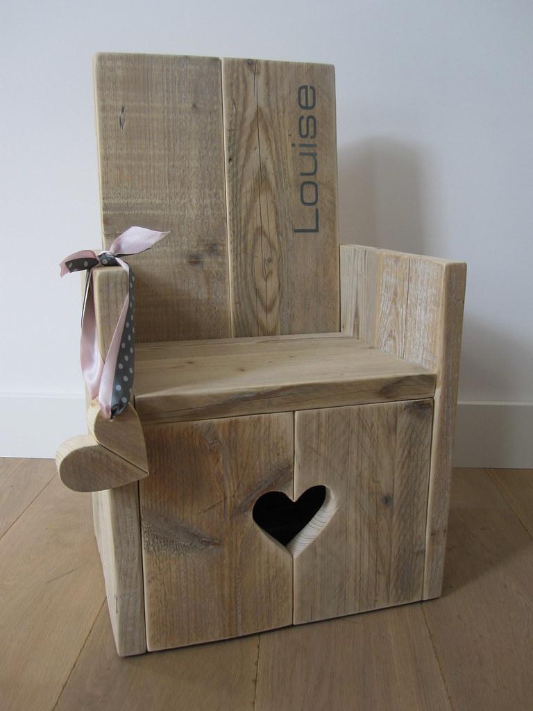 Te Koop Kinderstoel.Kinderstoel Sweetheart Steigerhout Te Koop Bij W00td Flickr