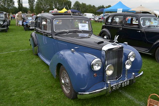 Tewkesbury  Classic Car Show. August 2012. 198