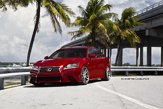2013 Lexus GS F Sport Concavo Wheels CW-S5 | by Concavo Wheels