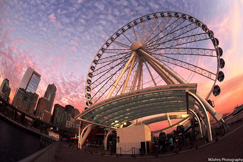 Seattle Waterfron Ferris Wheel