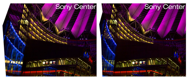 Sony Center I 3D :: Berlin :: HDR Cross-Eye Stereoscopy