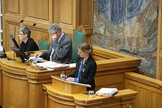 Folketingets åbningsdebat 2012   by Ellen Trane Nørby