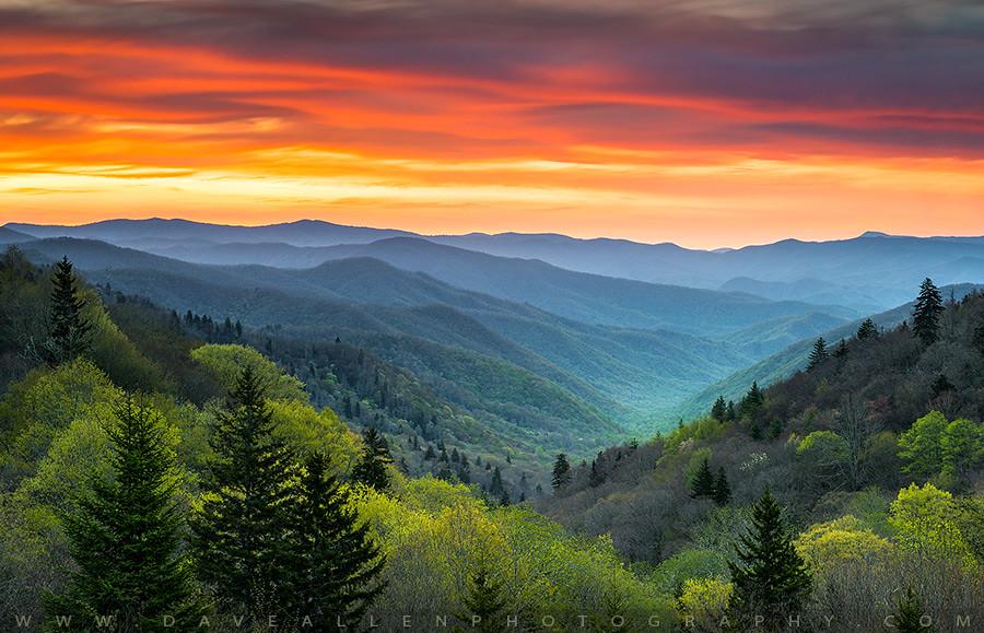 Great Smoky Mountains National Park Gatlinburg Tn Scenic L