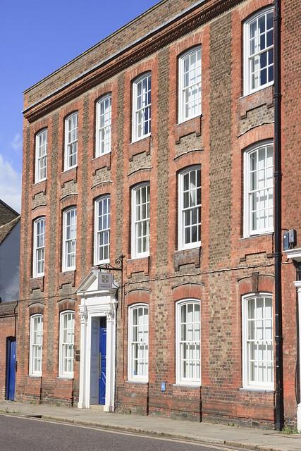 Lovely architecture in Trumpington St, Cambridge, England.