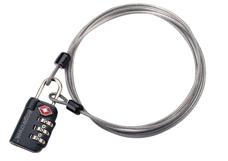 Eagle Creek 3-Dial TSA Lock & Cable – EC41028