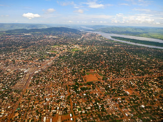 Flying out of Bangui, CAR | by kalyan3