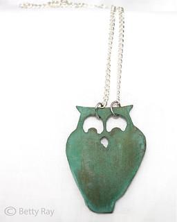 Owl Necklace | by Bridgette Rehg