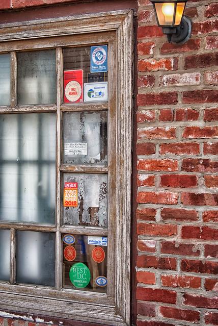 Blues Alley-Window
