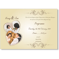 Silver Jubilee Wedding Anniversary Invitation Cards Flickr