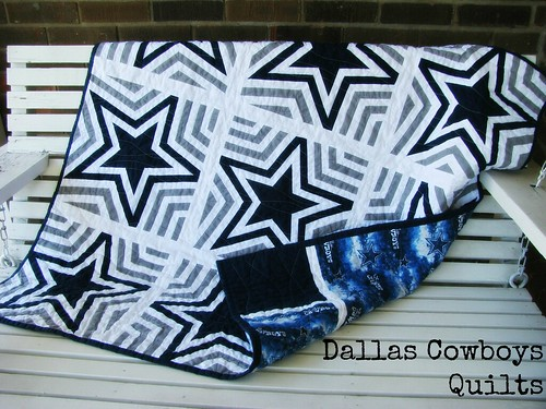 Dallas Cowboys Quilt Title | by Sarah.WV