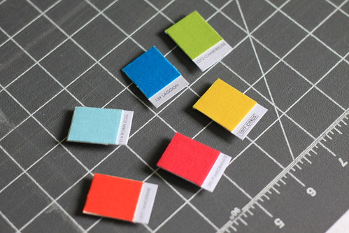 cutting up the kona color card   by anythingpretty