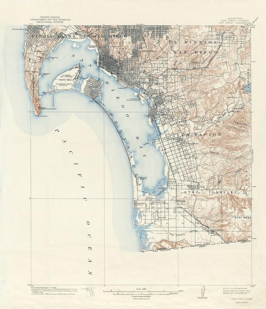 San go Quadrangle Topographic Map, 1904-1941 ... Map California San Go on map go california, map la california, map cisco california, map california california,