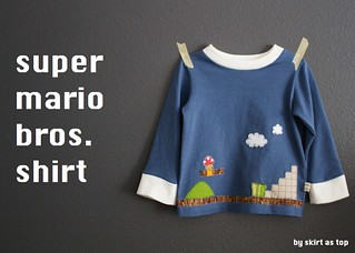 super mario bros flashback tee | by skirt_as_top