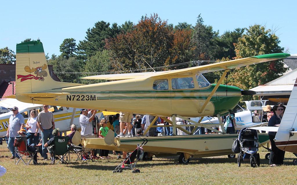 Cessna 175 | Cessna Skylark float plane | blazer8696 | Flickr