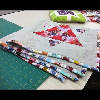Binding made from selvedges | by bryanhousequilts