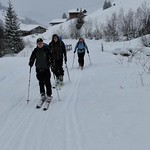 Carschinahütte, Skitourentage, 24. Jan 2014