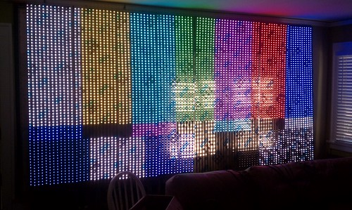 LED wall test | by xnorman