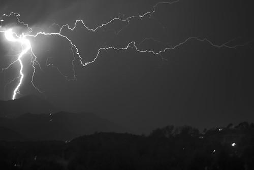 Lightning B&W