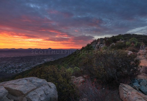 california sunrise landscape dawn sandiego hiking east hdr sancarlos cowlesmountain