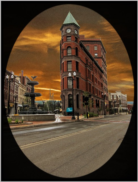 Warren PA ~ National City Bank Building ~ Historic