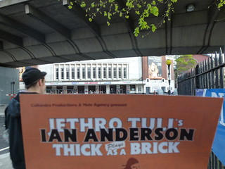 Ian Anderson plays Jethro Tull Thick As A Brick 2 Hammersmith London April 27 2012