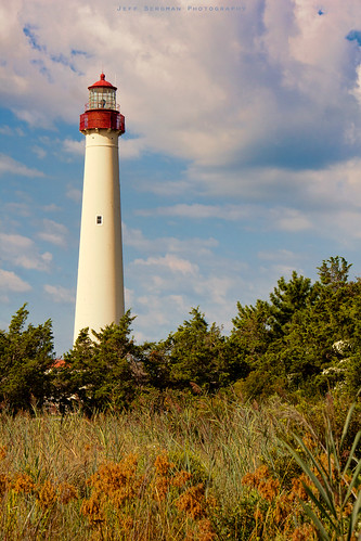 ocean lighthouse newjersey nj capemay foreset lightstations raynolds