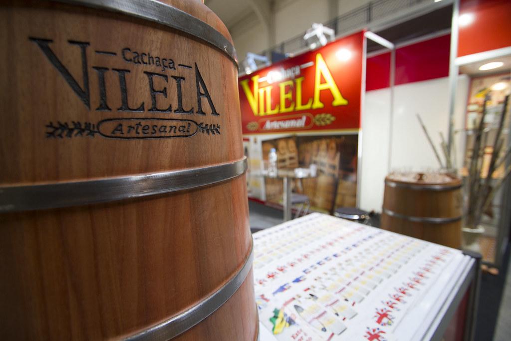 Stand Vilela - Expocachaça 2012 - Mercado Municipal SP