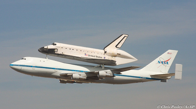 Boeing 747-123 N905NA 'NASA' and Space Shuttle Endeavour