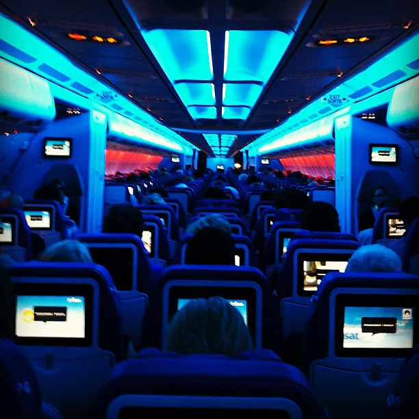 Space Age Air Transat Interior The Passionate Traveler Flickr