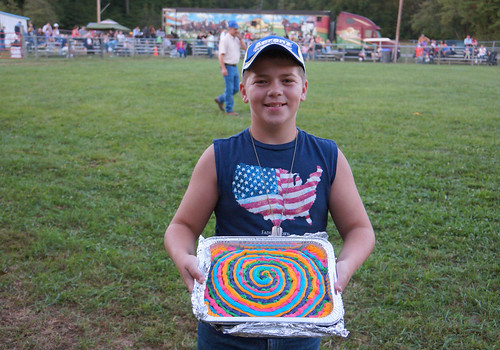 4-H cake auction, St. Mary's County Fair, Leonardtown