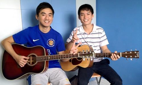 Adult guitar lessons Singapore Alex