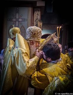 Литургия в Софийском соборе 80