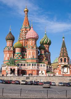 Храм Василия Блаженного (Saint Basil's Cathedral)