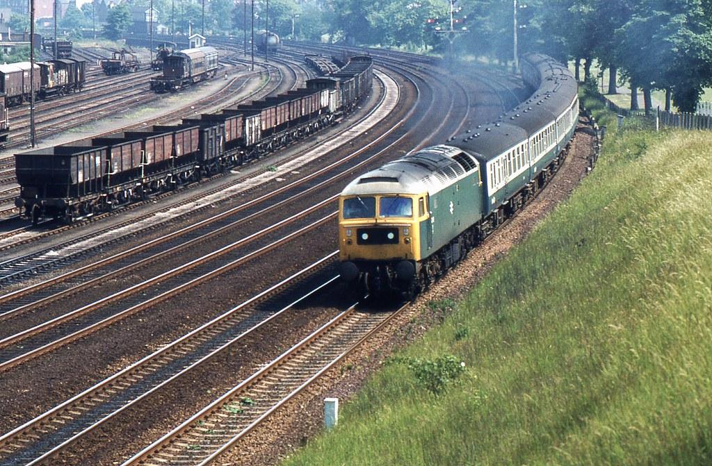 BR Class 47 47118 Ipswich by Crewcastrian