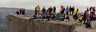 Perl hackers at Preikestolen | by Robin Smidsrød