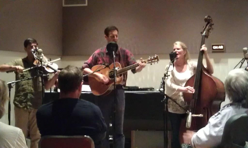 Cast recording at WFMT Folkstage