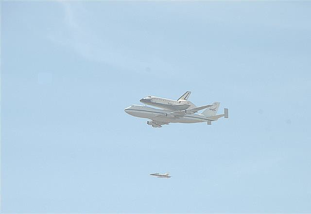 Endeavor  finds a new home.