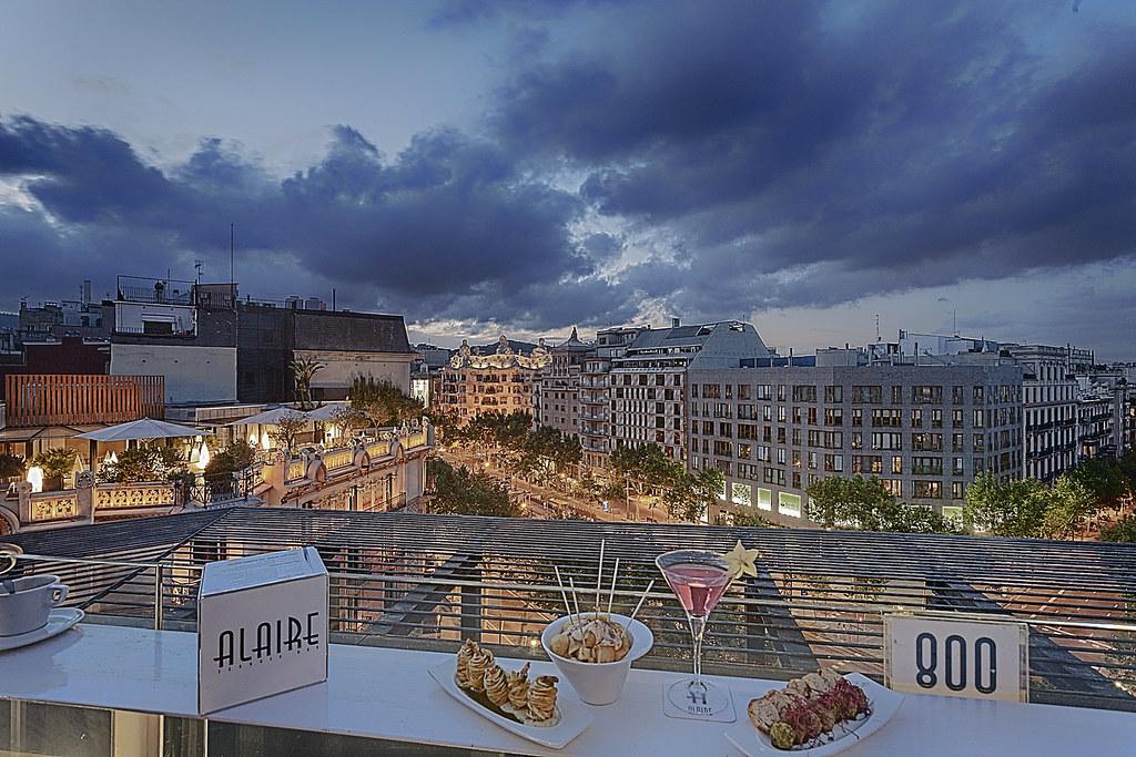 Hotel Condes De Barcelona Terraza Al Aire Albert Bakker
